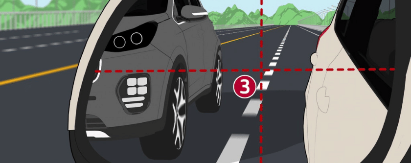 10 Steps of Changing Lanes Properly
